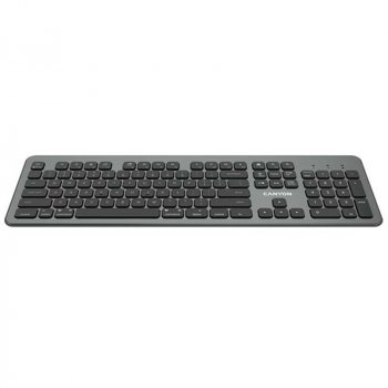 Клавіатура Canyon CND-HBTK10-RU Black