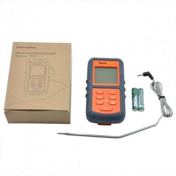 Термометр для мяса ThermoPro TP-06S (от -9 до +250°C) с выносным датчиком из нержавеющей стали