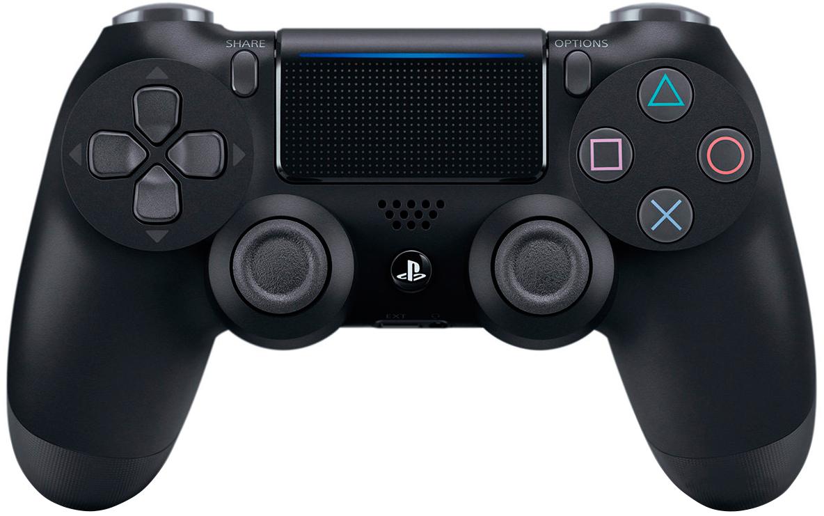 Бездротовий геймпад PlayStation Dualshock 4 v2 Black для PS4