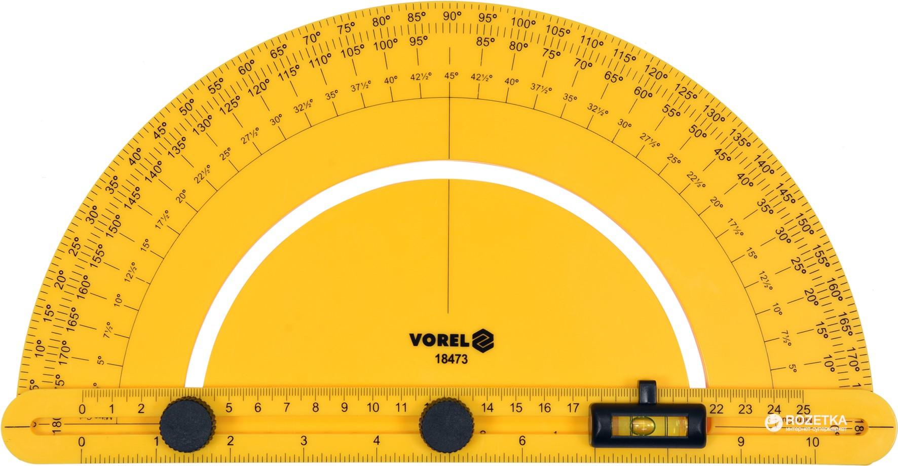 Транспортир VOREL 250 мм (VO-18473)