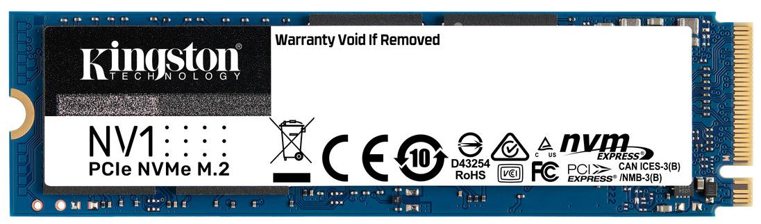 NV1 500GB NVMe M.2 2280 PCIe 3.0 x4 (SNVS/500G)