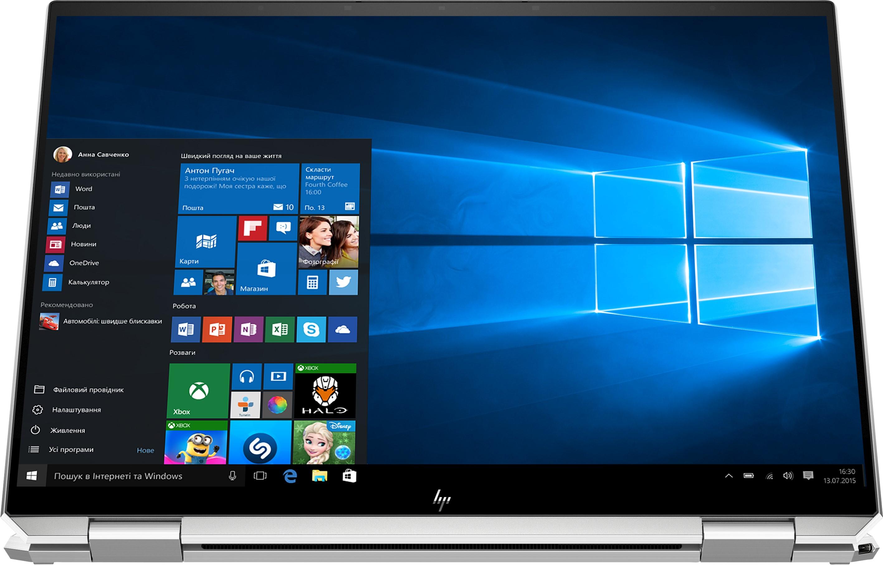 Ноутбук HP Spectre x360 Convertible 14-ea0017ua  Silver
