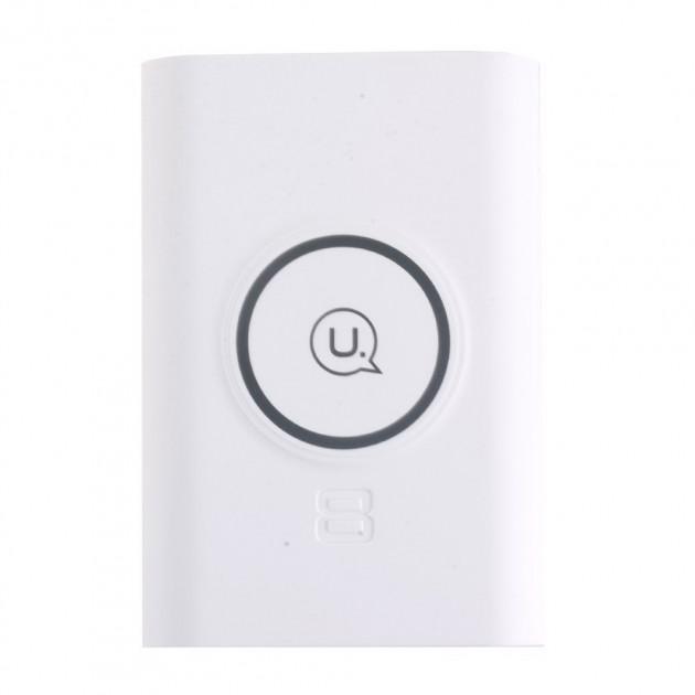 Зарядное устройство беспроводное+Павер банк Usams US-CD31 White