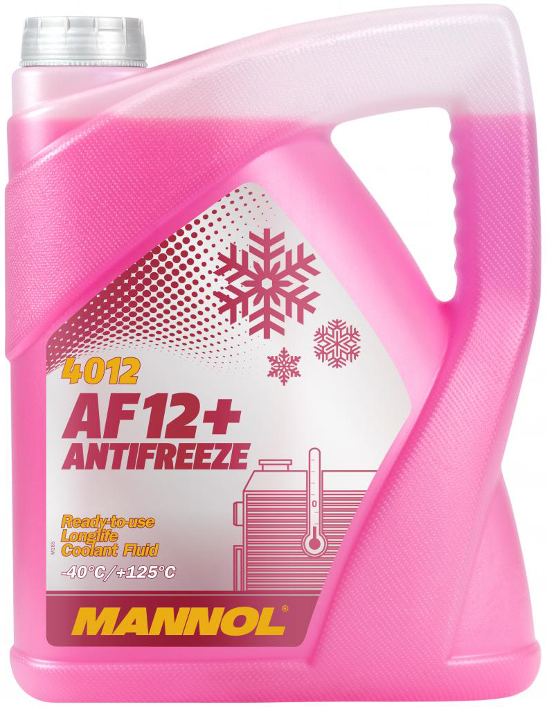 Антифриз Mannol Antifreeze AF12+ -40 °C 5 л Red (359/5)