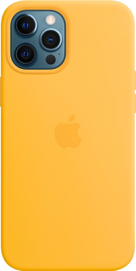 Панель Apple MagSafe Silicone Case для Apple iPhone 12 Pro Max Sunflower (MKTW3ZE/A)