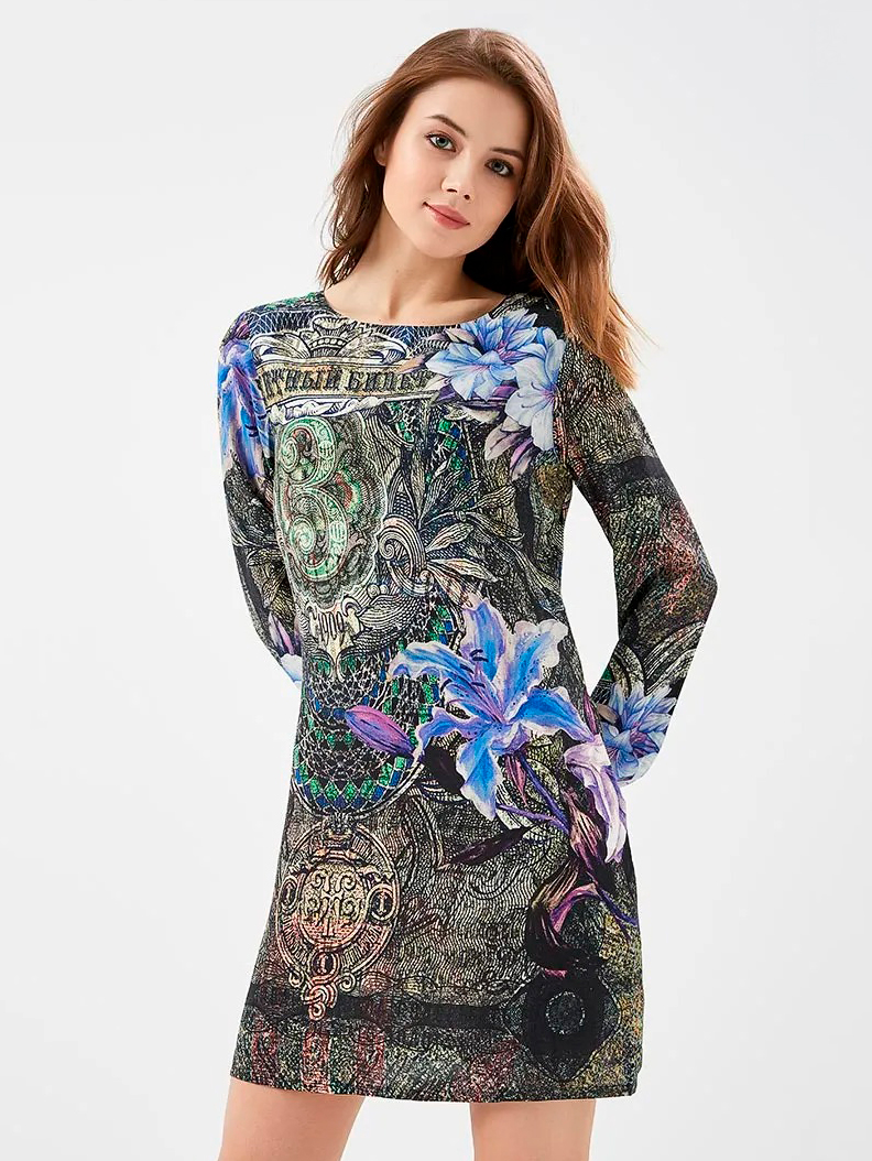 Платье Desigual 18SWVWD0-5000 36