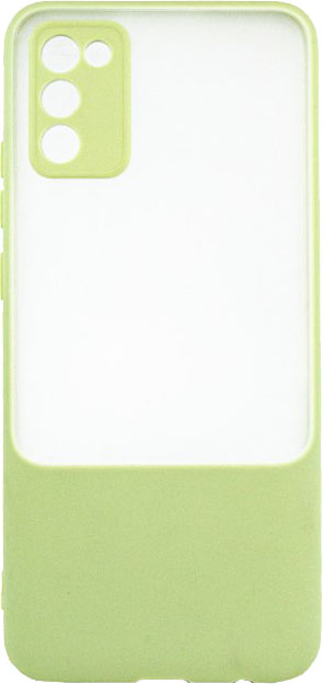 Панель Dengos Carbon для Samsung Galaxy A02s Olive (DG-TPU-BNG-09)