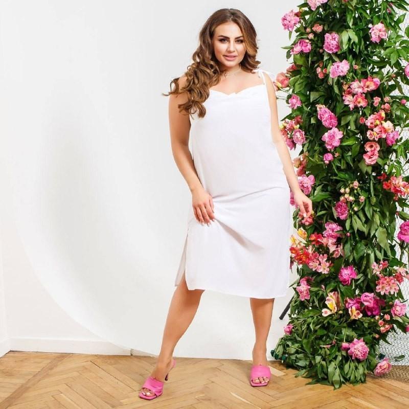 Платье 0101 Brand 2321 46-48 Белое