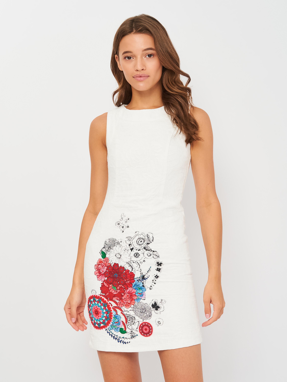 Платье Desigual 18SWVWXQ-1001 36 (8434486894112)