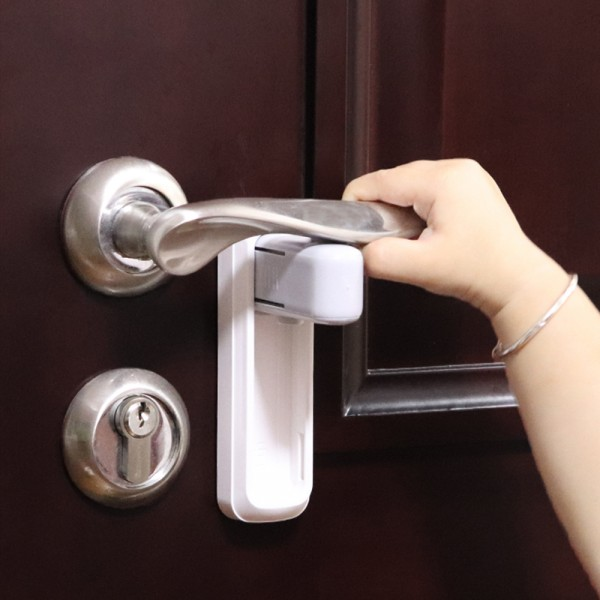Eudemon / Блокиратор для дверной ручки EUDEMON B3205 (белый)