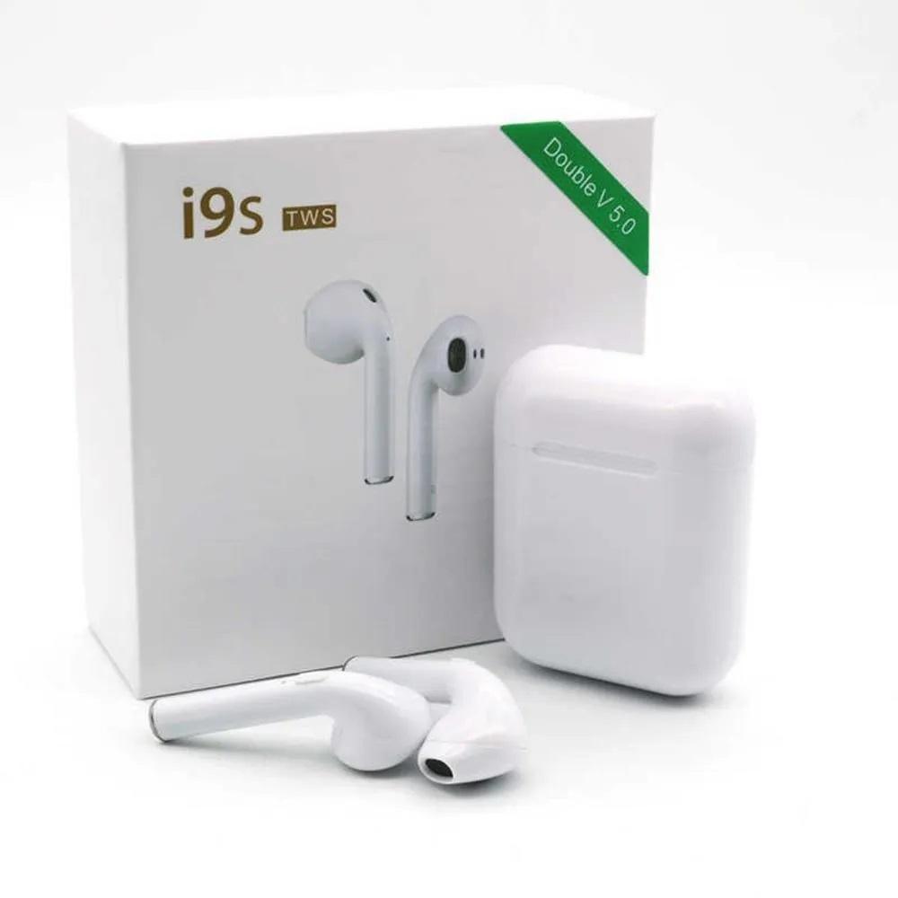 Беспроводные Bluetooth наушники с кейсом V5.0 I9S TWS White
