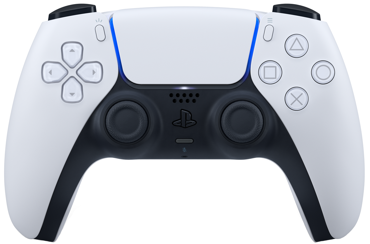 Бездротовий геймпад PlayStation 5 Dualsense White для PS5/PS 5 Digital Edition