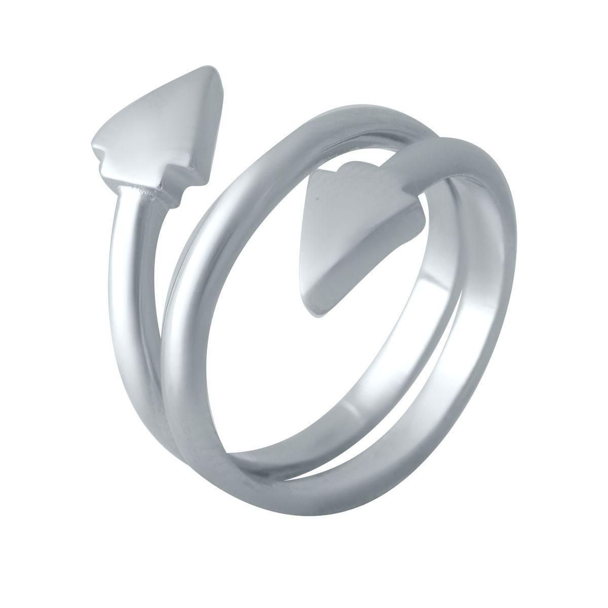 Серебряное кольцо LAMIA без камней 16 размер