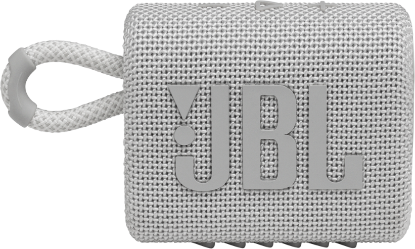 Акустична система JBL Go 3 White