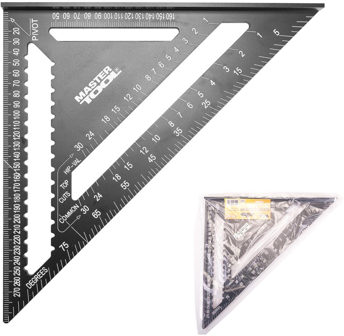 Косинець теслі Mastertool Swanson алюмінієвий 300 мм (30-3519)
