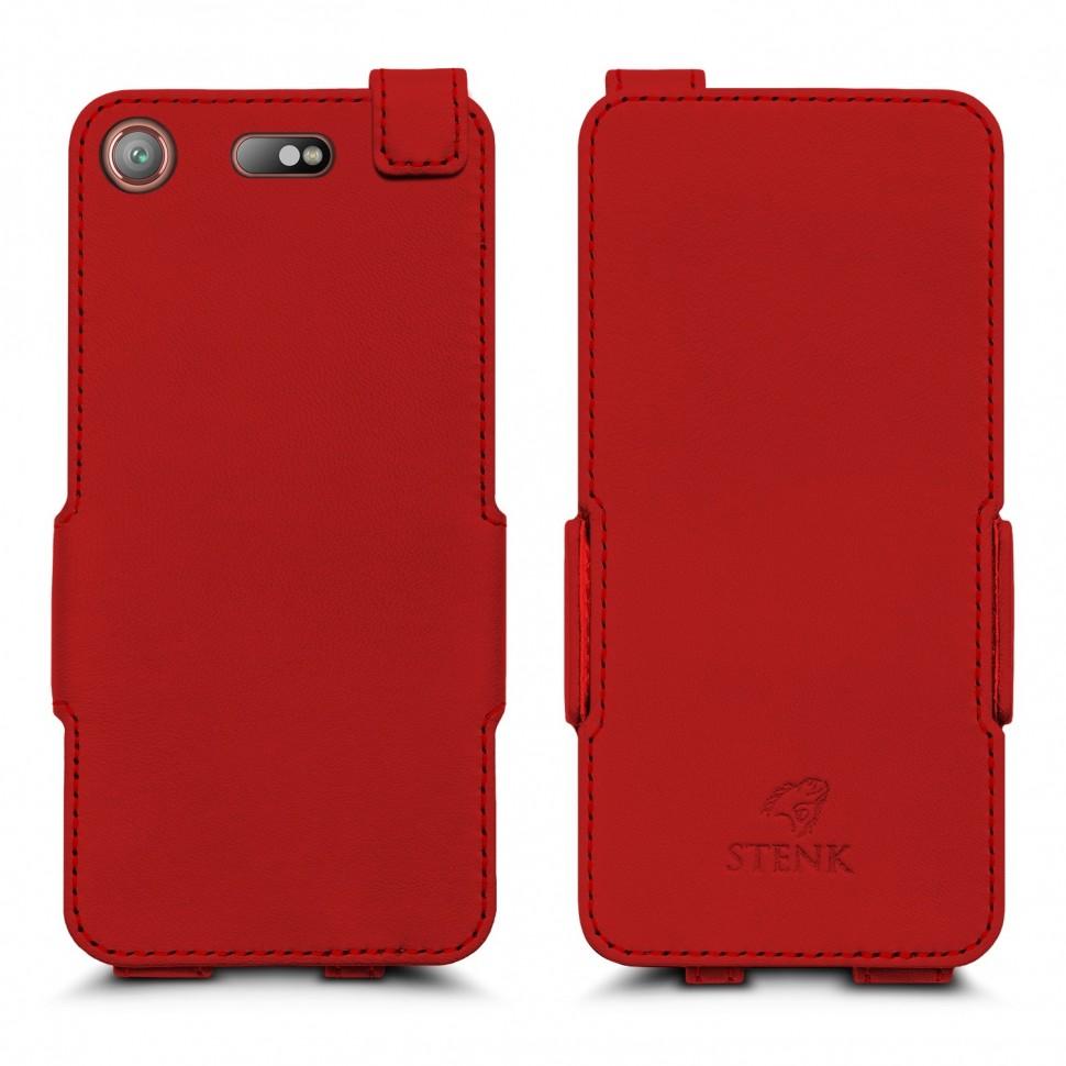 Чехол флип Stenk Prime для Sony Xperia XZ1 Compact Красный