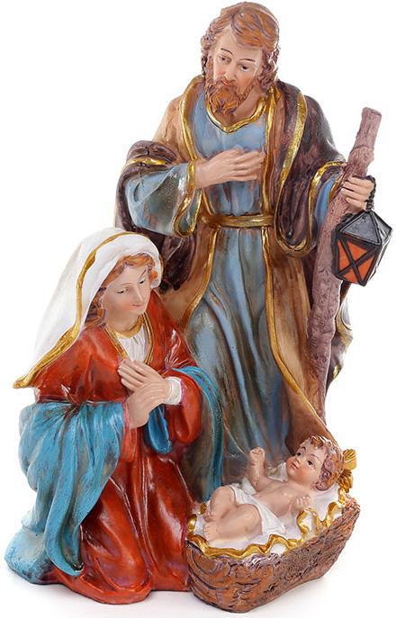 Рождественская декоративная статуэтка Вертеп 23см Bona BD-803-114