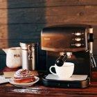 Крапельна Кавоварка для кави, капучіно та лате , потужність 870 Вт, із світловим індикатором роботи MAGIO (МG-963) - зображення 3