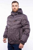 Куртка мужская с капюшоном Time of Style 157P3106 46 Хаки - изображение 1