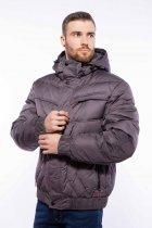 Куртка мужская с капюшоном Time of Style 157P3106 46 Хаки - изображение 4