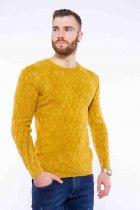 Джемпер приталенного кроя Time of Style 11P243 XL Желтый варенка - изображение 1