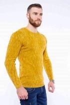 Джемпер приталенного кроя Time of Style 11P243 XL Желтый варенка - изображение 3