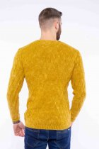 Джемпер приталенного кроя Time of Style 11P243 XL Желтый варенка - изображение 4