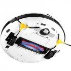 Тихий ультратонкий моющий робот-пылесос INSPIRE Galaxy с функцией ультразвуковой самоочистки FQ3C White - изображение 11