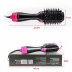 Фен-расческа 3 в 1 стайлер для укладки волос браш One Step Blower Brush 1000 Вт Black - изображение 3