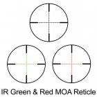 Приціл оптичний Barska Level 4-16x50 (IR MOA R/G) + Rings Brsk925758 - зображення 3
