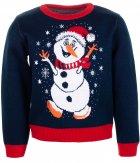 Джемпер Flash Різдво 19BG134-6-3900 98 см NY Синій (2200000248565) - зображення 1