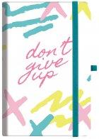 Деловая записная книга Optima Dont Give Up А5 256 страниц в линейку (O20812-23) - изображение 1