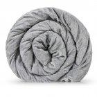 Утяжеленное (тяжелое) детское сенсорное одеяло Gravity 110x170см 4кг Серое - изображение 2