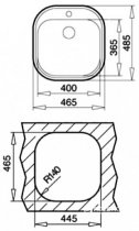 Кухонна мийка TEKA STYLO 1B декор 10107045 - зображення 3
