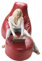 Крісло-мішок Starski Galliano (RZ-0004) Red - зображення 3