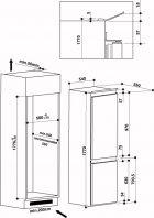Встраиваемый холодильник WHIRLPOOL ART 6711/A++ SF - изображение 19