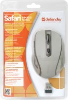 Миша Defender Safari MM-675 Wireless Beige (52677) - зображення 4