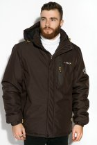 Куртка Time of Style 120PCHB9371 XL Темно-коричневый - изображение 1