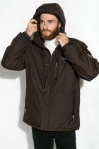 Куртка Time of Style 120PCHB9371 XL Темно-коричневый - изображение 3