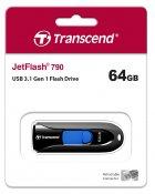 Transcend JetFlash 790 64GB (TS64GJF790K) - зображення 5