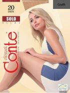 Колготки Conte Solo 20 Den 4 р Grafit -4810226048382 - изображение 1