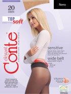 Колготки Conte Top Soft 20 Den 2 р Nero -4810226051887 - зображення 1
