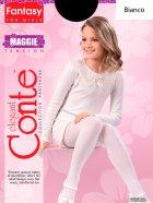 Колготки Conte Maggie 50 Den 104-110 см Bianco (4810226048504) - изображение 1