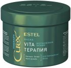 Маска Estel Professional Curex Therapy Vita-терапія для пошкодженого волосся 500 мл (CU500/M5) (4606453063850) - зображення 1