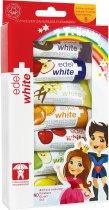 Детская зубная паста Edel White 7 фруктов 65.8 мл (7640131975308) - изображение 1
