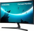 """Монітор 23.5"""" Samsung Curved C24F396F (LC24F396FHIXCI) - HDMI-кабель у комплекті - зображення 4"""