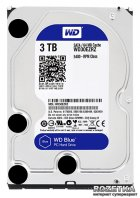 Жорсткий диск Western Digital Blue 3TB 5400rpm 64MB WD30EZRZ 3.5 SATAIII - зображення 1
