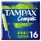 Тампоны Tampax Compak super с аппликатором 16 шт (4015400219712) - изображение 1
