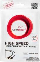 Кабель Cablexpert HDMI - HDMI v2.0 1 м (CC-HDMI4-W-1M) - зображення 4