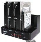 """Док-станція Maiwo для 4xHDD 2.5""""/3.5"""" SATA/SSD USB 3.0 (K3094) - зображення 3"""